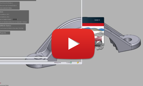 Geomagic Design X 2016 LiveTransfer of 3D data into SOLIDWORKS